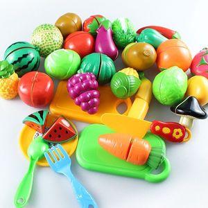 【儿童节促销】过家家仿真切水果玩具蔬菜披萨切切乐塑料玩具套装
