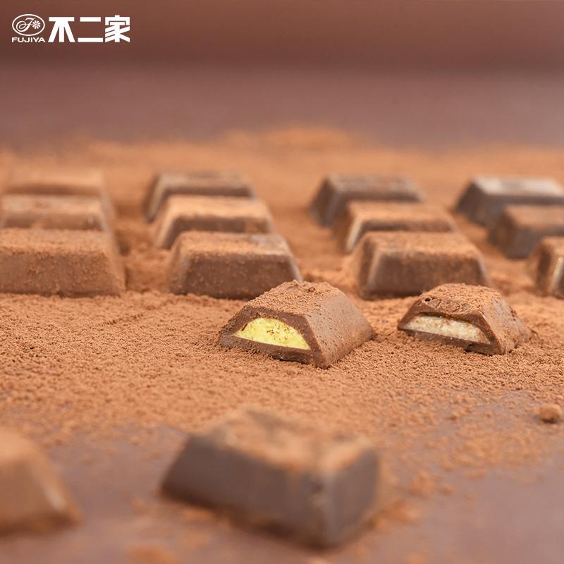 不二家日本进口糖果巧克力LOOK4巧克力纯可可脂送女友网红零食