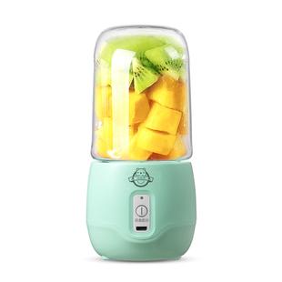 细细熊榨汁机迷你便携式家用多功能小型电动水果辅食学生炸果汁杯