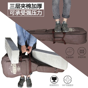 Thick shoulders guitar bag 41 inch 40 inch 38 inch wooden guitar ballad guitar guitar bag box backpack bag box