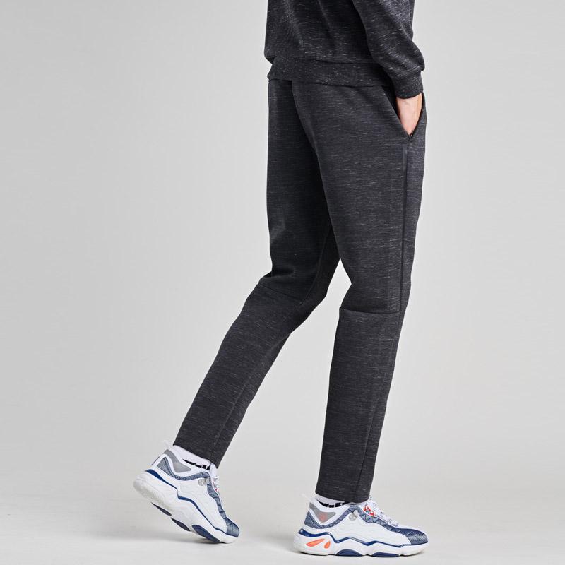 361男裤运动裤2019夏季新款361度缩口休闲裤子正品保暖跑步长裤男