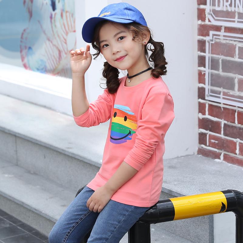 【100%纯棉】女童保暖长袖T恤