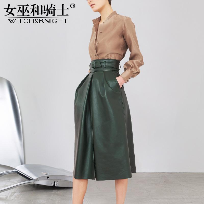 2018秋季新款女装欧美时尚气质高腰时髦洋气套装显瘦半身裙两件套