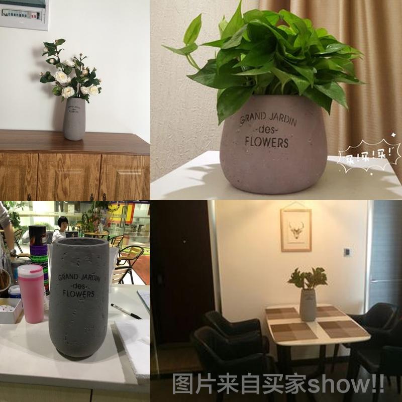 唐朝美式乡村粗陶瓷花瓶
