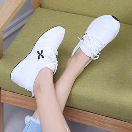 系带女平底小白鞋休闲百搭运动鞋