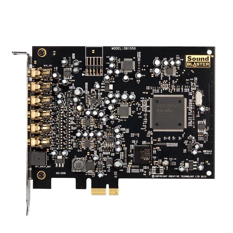 Creative-创新A5 Audigy 5内置7.1-5.1网络k歌台式机PCIE独立声卡