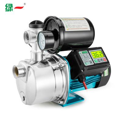 绿一不锈钢水泵增压泵家用全自动自吸泵热水器压力泵高扬程抽水泵