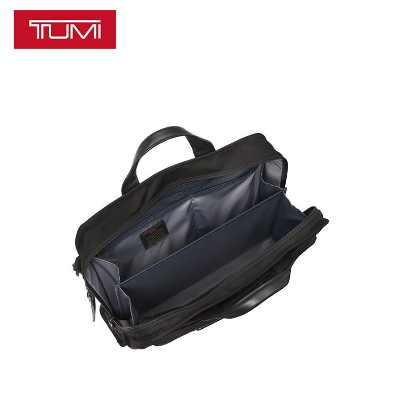 TUMI-途明Alpha系列男士休闲弹道尼龙耐磨公事包电脑包男026108D2
