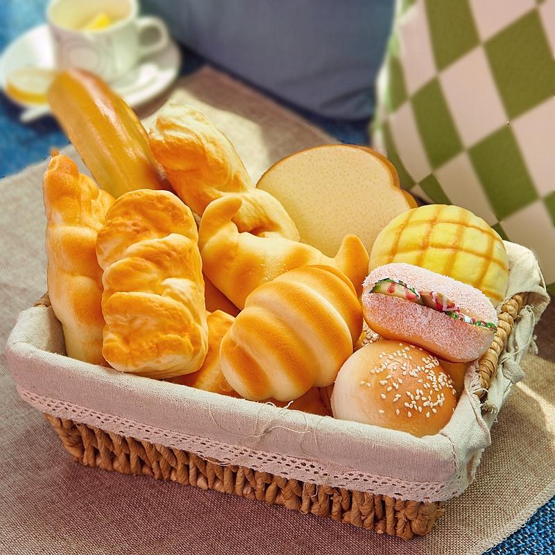仿真面包食物模型道具摆件幼儿玩具样板橱柜橱窗装饰摆设拍摄推荐