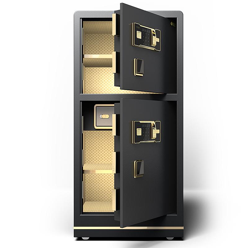 保险柜家用办公防盗大型双门80cm1米1.2-1.5m密码指纹全钢保险箱