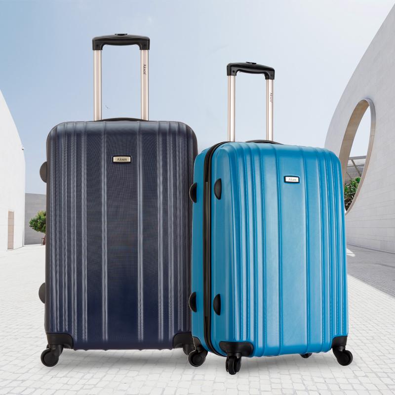 奥凯盛拉杆箱女20寸登机箱时尚旅行箱24寸男皮箱静音密码行李箱子