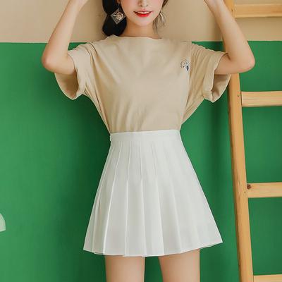 Women Fashion Woman Skirts Short Sleeves 586624