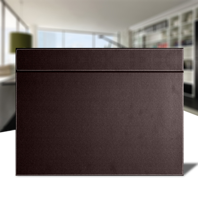 High End Business PU Leather Office Supplies Table Mats With Oversized Desk  Mats High