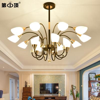 客厅吊灯简约现代北欧家用大气LED套餐创意网红卧室灯餐厅灯具