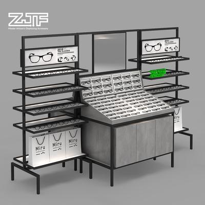 众匠坊ZJF 眼镜店货架 商场太阳镜墨镜展示柜双面中岛架陈列架F4