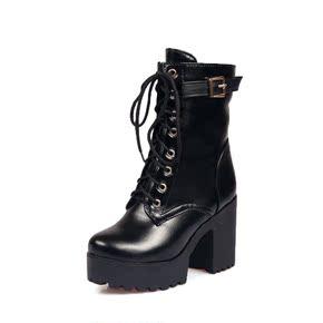2016冬季新款系带马丁靴
