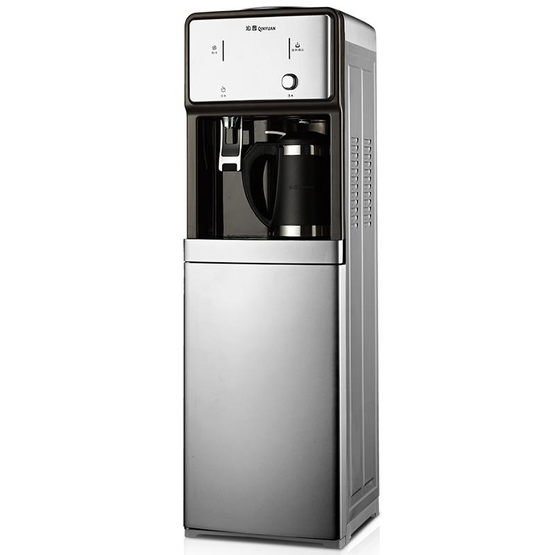 沁园饮水机家用立式冷热温热无胆外置沸腾内胆制冷冰温冰热YL9661