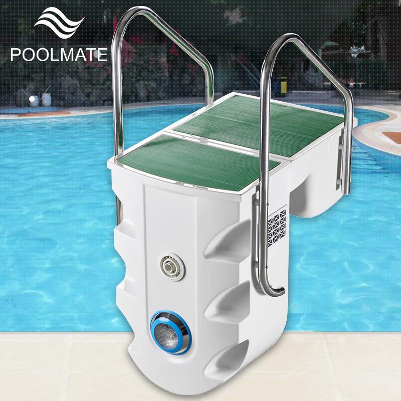 游泳池壁挂式一体机水处理循环设备泳池专业挂壁机过滤器浴池水泵