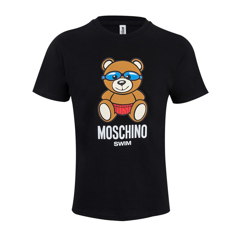 Moschino-莫斯奇诺M19122813男士夏季小熊短袖T恤18年春夏新款