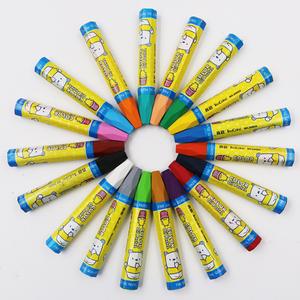 真彩2966油画棒经典款36色儿童幼儿安全画画蜡笔美术绘画套装12色18色24色48色彩色蜡笔