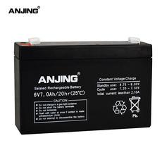 Аккумулятор фиксированный Anjing 6V7AH/20HR