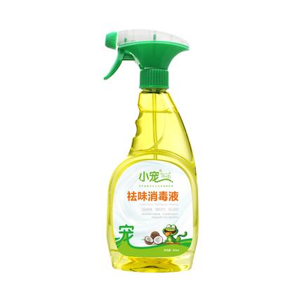 小宠祛味消毒液500ml 环境抑菌除臭味剂宠物狗狗猫咪祛味剂去尿味