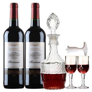 法国进口罗莎田园葡萄酒750ml*2瓶