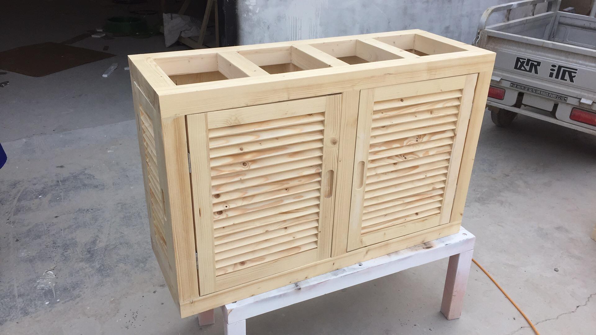 订做水族箱底柜鱼缸底柜实木鱼缸柜底滤鱼缸架子实木鱼缸底座架子