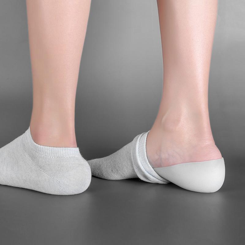 隐形内增高鞋垫女硅胶半垫软舒适鞋垫男仿生硅胶袜子增高神器后跟