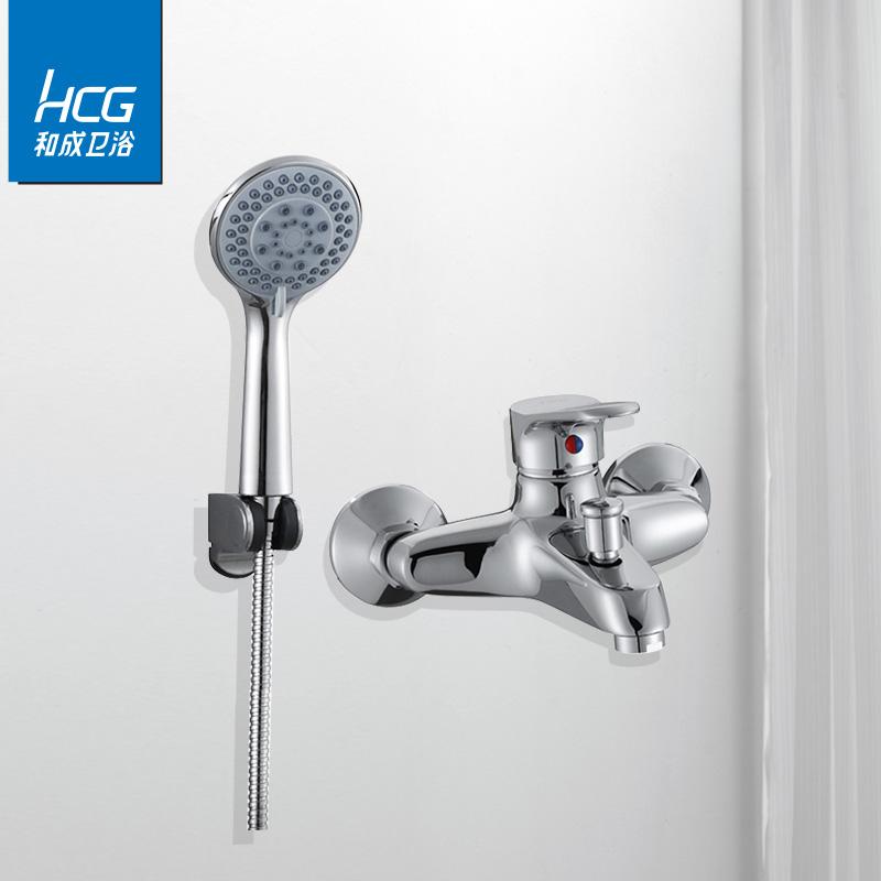 和成卫浴(HCG)淋浴花洒喷头雾喷增压手持大单头热水器莲蓬头