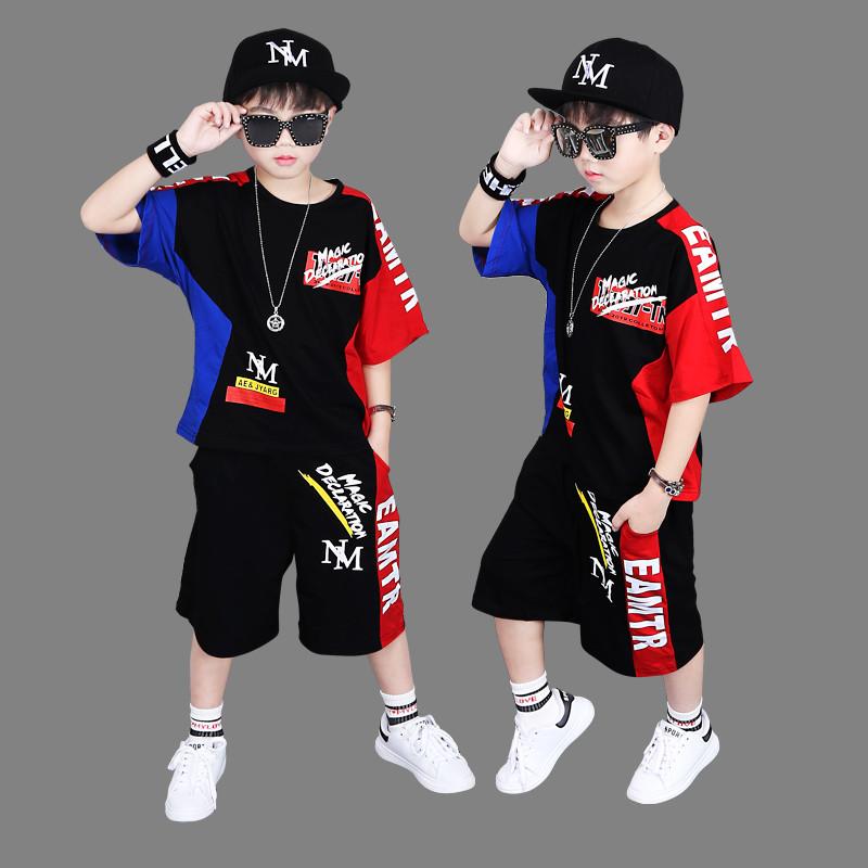 2019街舞潮酷儿童嘻哈套装
