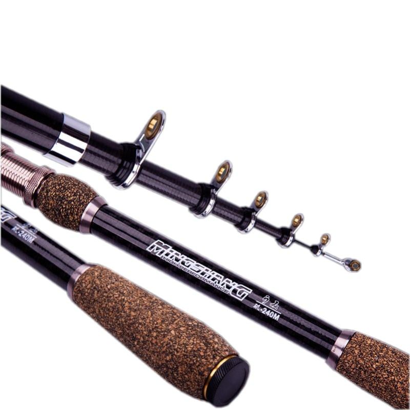 Japanese imports of carbon short legged fishing rods set for Short fishing rods