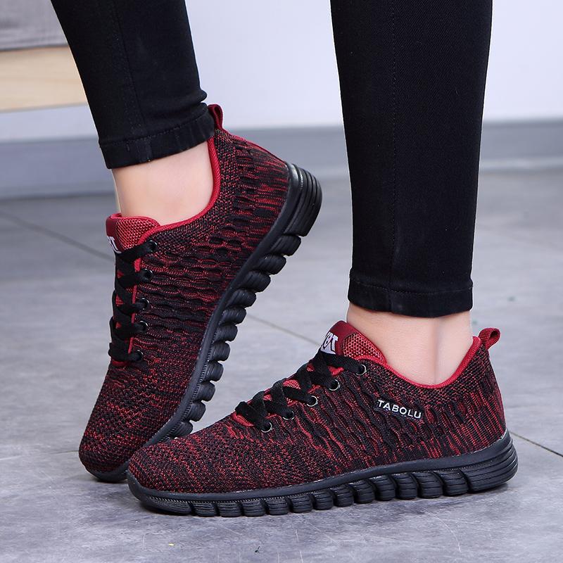 秋季中老年健步鞋软底防滑爸妈妈鞋中年运动鞋男透气老北京布鞋女