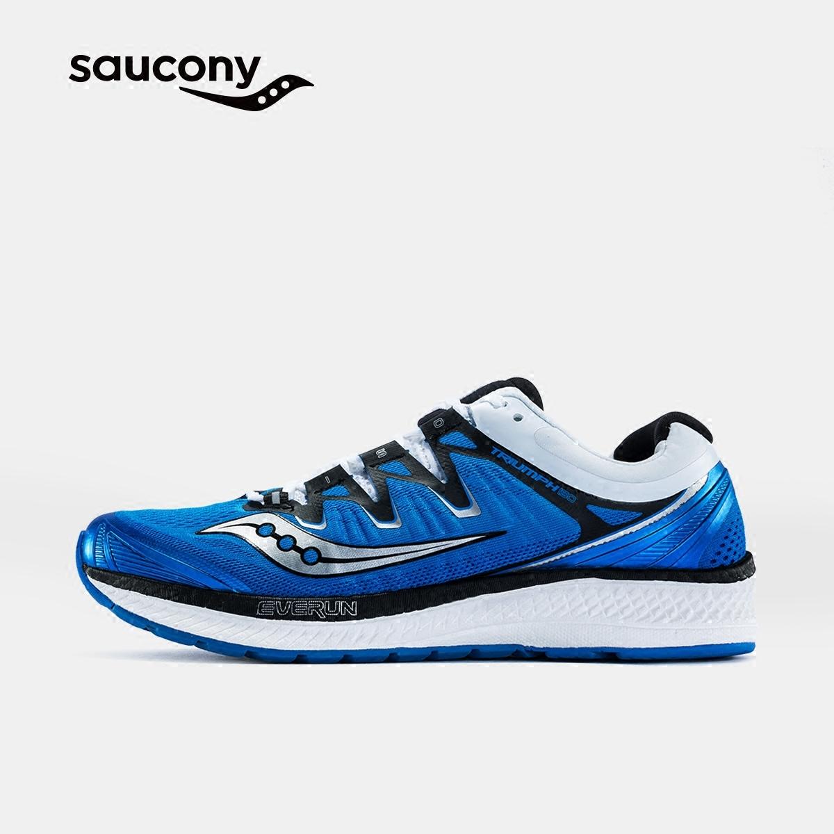 Saucony圣康尼TRIUMPH ISO4 舒适缓震跑鞋运动鞋男跑步鞋S20413-A