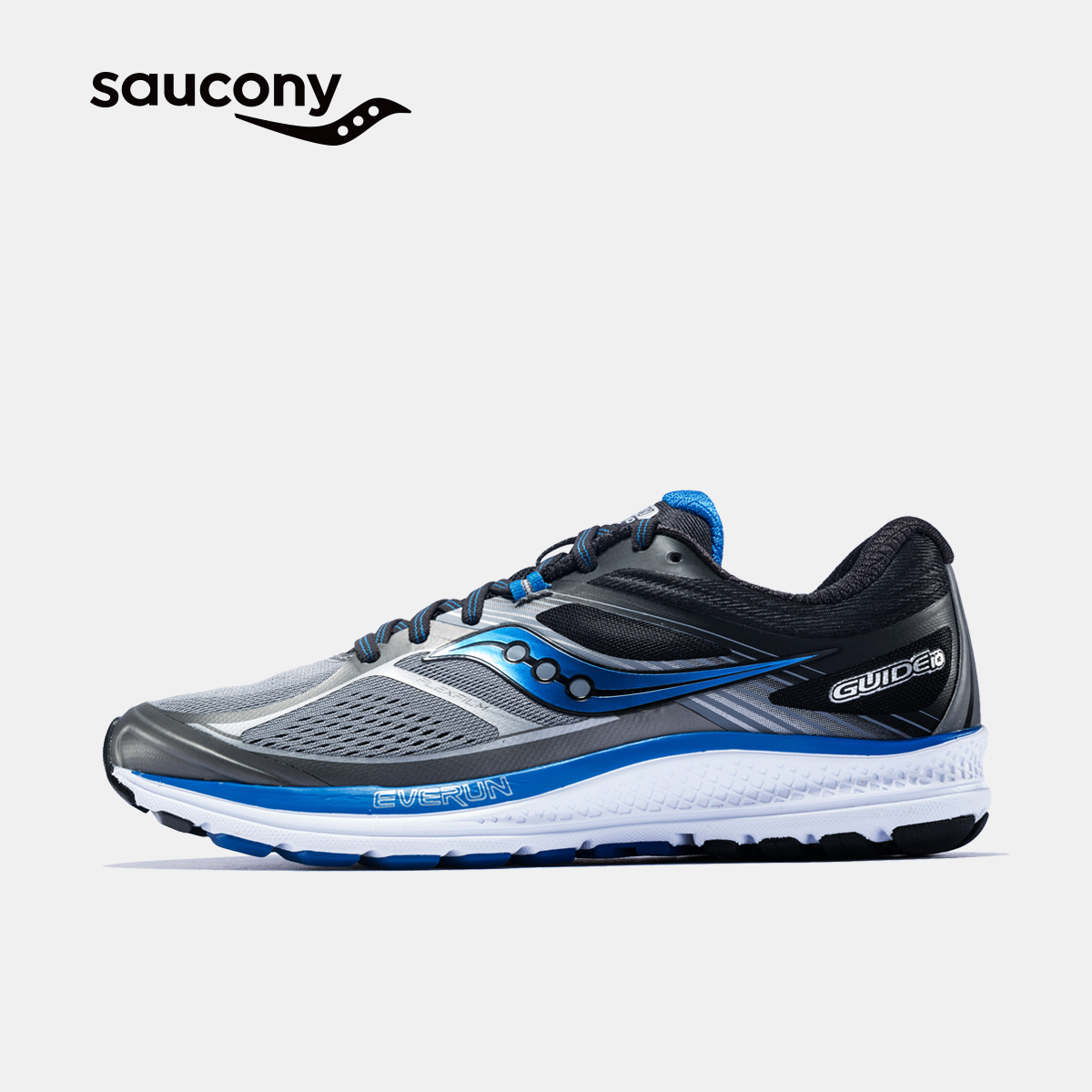 Saucony圣康尼GUIDE 10稳定支撑运动鞋 男子跑步鞋 S20350-A