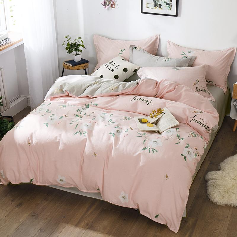 线下各大商超有售、100%纯棉:小绵羊 纯棉床上四件套