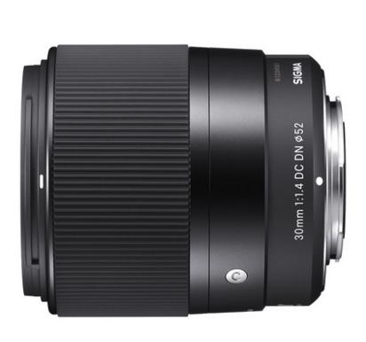 适马-sigma 30mm F1.4 DN DC 大光圈微单镜头索尼E卡口现货