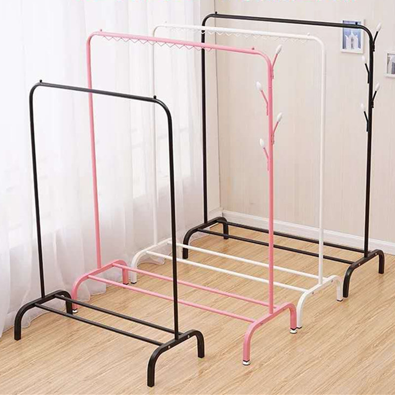 Coat Rack Simple Clothes Rack Simple Hanger IKEA Bedroom Hanging ...