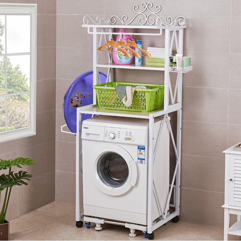 滚筒通用洗衣机架子底座脚架移动万向轮托架洗衣机置物架落地层架