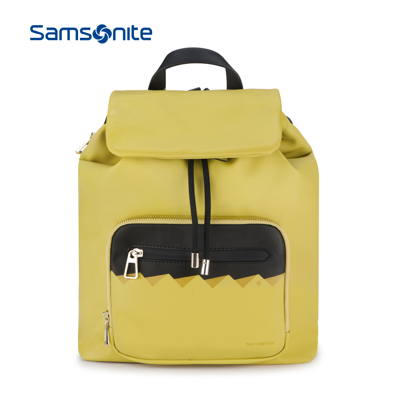 Samsonite-新秀丽时尚双肩包女士背包大容量背包休闲背包中号 CI4
