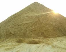 Жёлтый песок Естественный речной песок песок