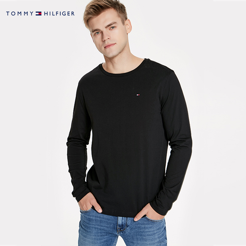 TOMMY HILFIGER男装2018秋季长袖T恤-2S87904672OF