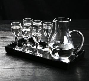 分酒器壶无铅玻璃白酒杯套装