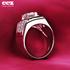 ESCVD钻戒珠宝饰品 仿真钻石戒指环 婚戒男士高端情侣钻戒指1019