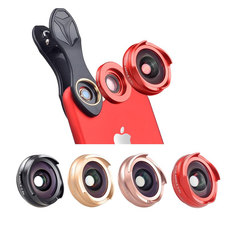 派米朵 手机镜头广角微距摄像头抖音拍照神器鱼眼三合一套装苹果手机通用照相神器单反外置长焦高清远程镜头