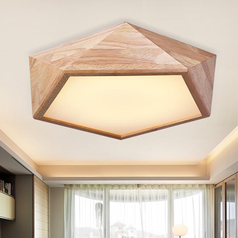 北欧照明主卧室吸顶灯 现代简约小户型风格日式客厅房间家用灯具