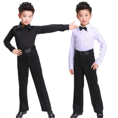 Boys Latin Dance Costume Children Latin Competition Gonggong Costume Children Latin Dance Costume Grade Examination Requirements