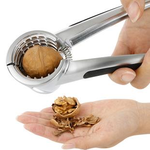 核桃夹子剥核夹山核桃剥壳器工具家用神器榛子夹不锈钢针坚果钳子