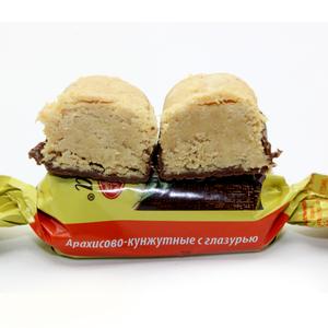 俄罗斯原装进口娃娃巧克力芝麻花生酥糖果婚庆喜糖年货500克包邮