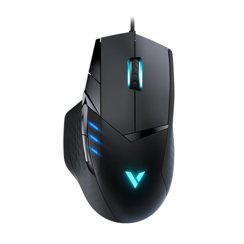 雷柏VT300游戏鼠标电竞有线可编程按键吃鸡鼠标英雄联盟LOL鼠标